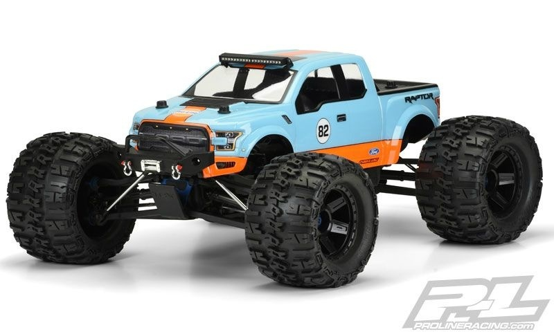 Pro Line 2017 Ford F-150 Raptor Clear Body /Karosserie