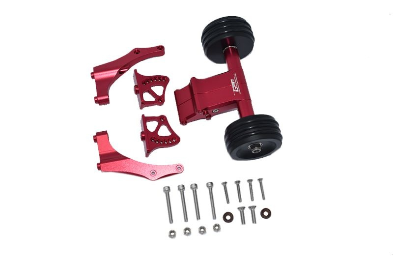 GPM Aluminum Rear Wheelie with Wing Mount - 21PC Set