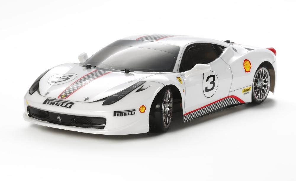 Tamiya RC Ferrari 458 Challenge TT-02D Bausatz 1:10