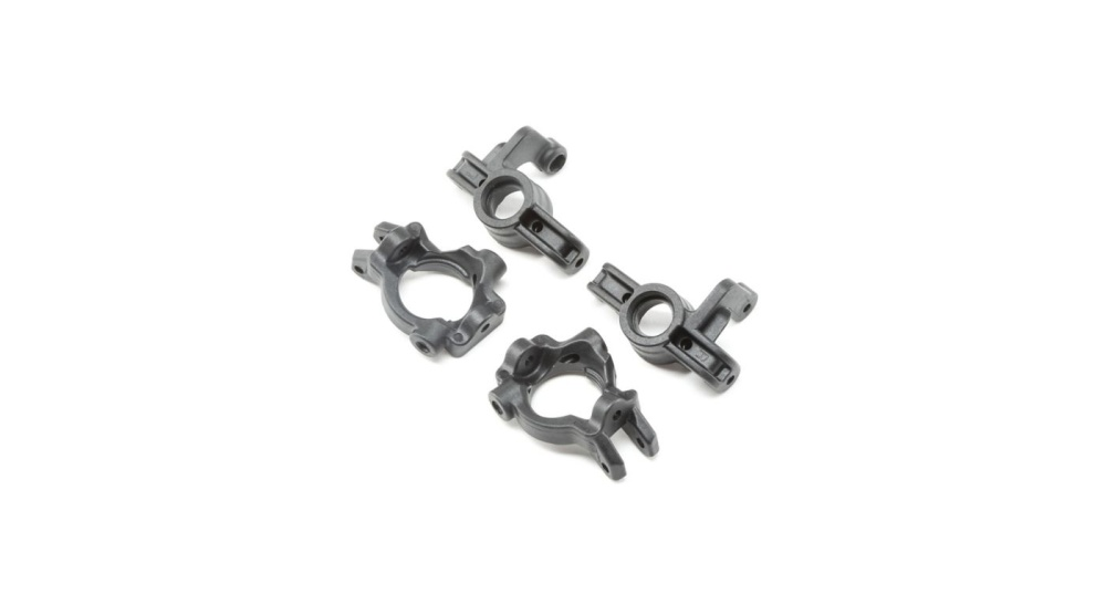 Losi FRONT SPINDLE & CARRIER SET: TENACITY SCT (LOS234018)