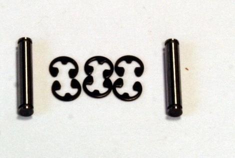 TT e-MTA Pins für Abtriebe Zentral-Getriebe, Stahl (2)