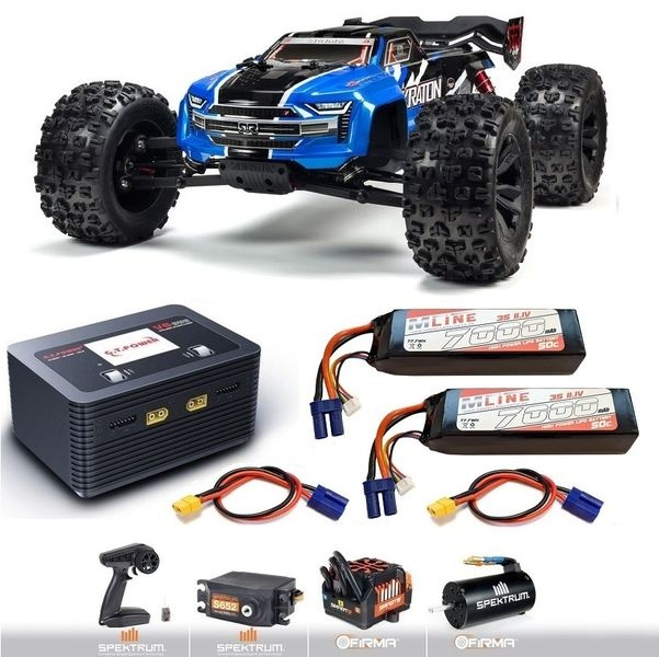 Arrma KRATON 6S V5 4WD BLX Speed MT m.Spektrum Firma,