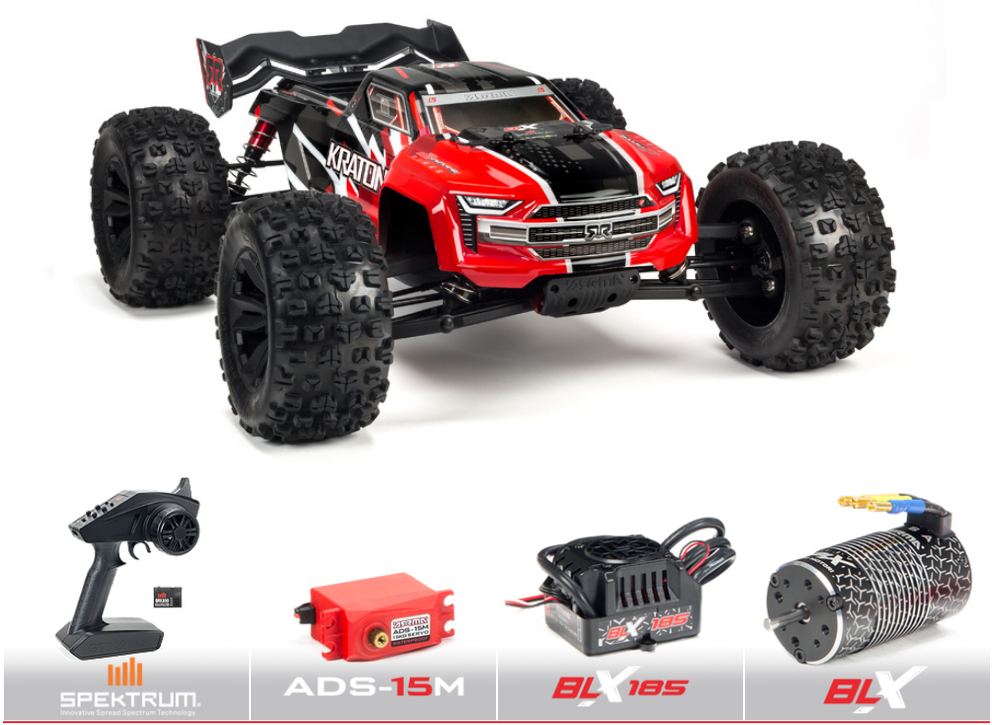 Auslauf - Arrma 1/8 KRATON V4 6S BLX 4WD Brushless Speed