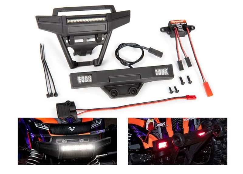 Traxxas HOSS Lichter-Set komplett mit Power Supply