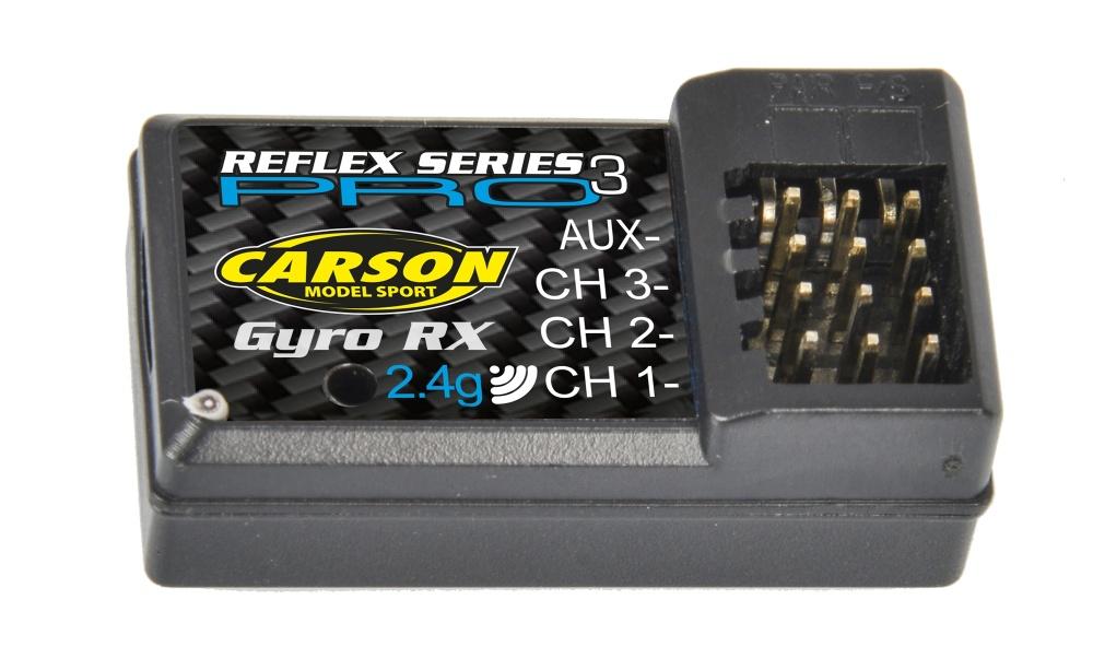 Carson Empfänger Reflex Pro 3 Nano+Gyro 2.4Ghz