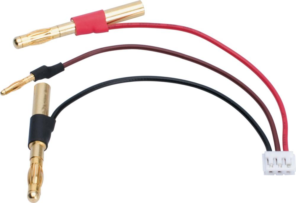 LRP LiPo Hardcase Balancer Adapter - 4/2mm Buchse auf EHR