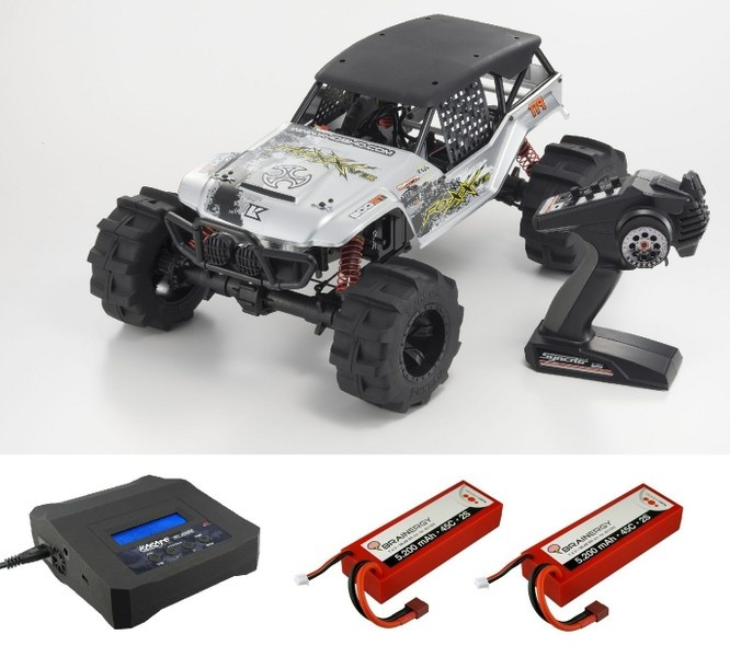 Kyosho FO-XX VE EP 4WD (KT231P) 2.4GHz RTR 1:8 --SPARSET 1--