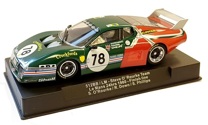 Sideways Ferrari 512BB LM - Steve ORourke Team