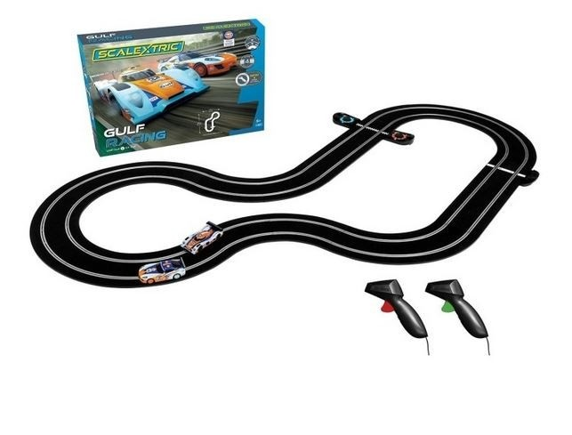 Scalextric 1:32 Gulf Racing Set (GT v LMP)