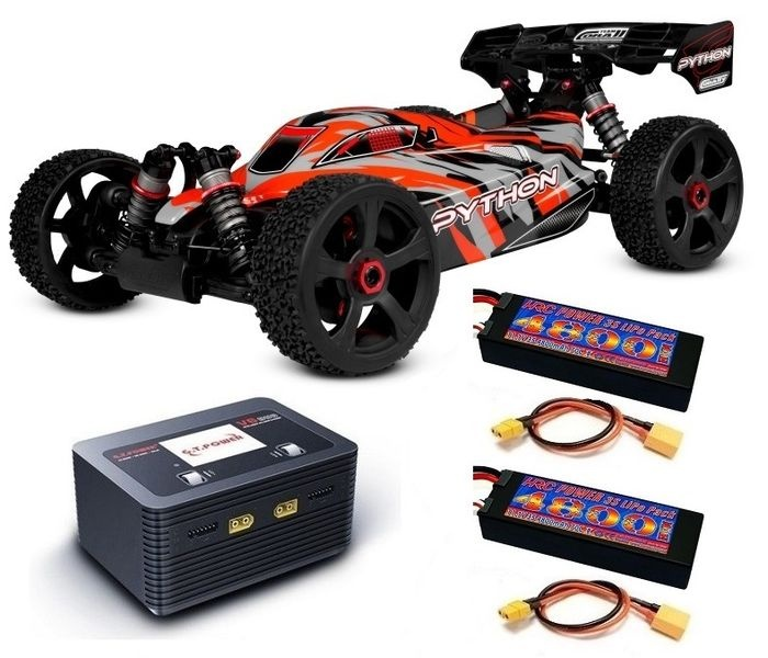 Team Corally - PYTHON XP 6S - 1/8 Buggy EP - RTR -BL Power
