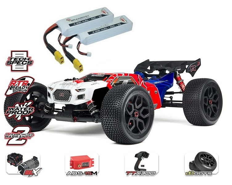 Arrma Talion 6s BLX 4WD E-Speed Truggy 2.4GHz 1:8-SPARSET 2-