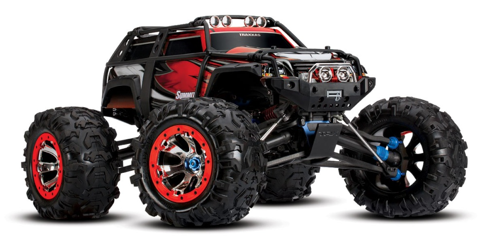 Traxxas Summit 4WD Extreme Monstertruck TQi 2.4GHz RTR 1:10