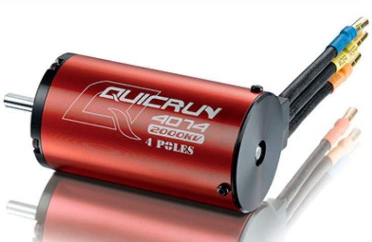 Hobbywing Quicrun BL Motor 4074 2000kV 1:8 sensorless