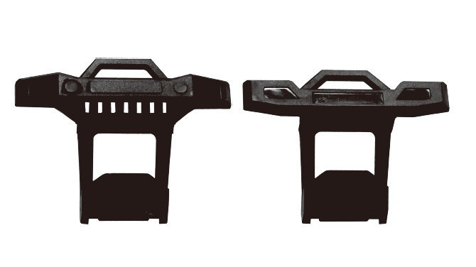 Absima Front and Rear Bumper Assembly