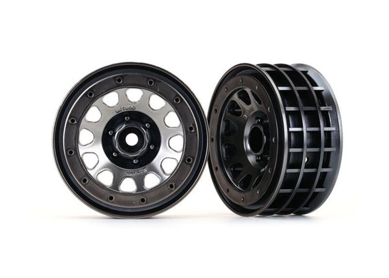 Traxxas Felgen Method 105 2.2(black chrome, beadlock)