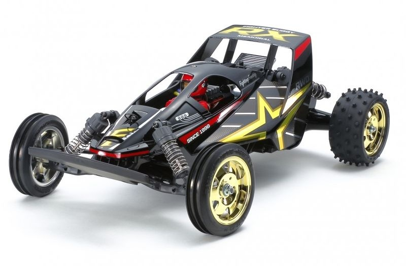 Tamiya RC 1:10 RC Fighter Buggy RX Memorial DT-01