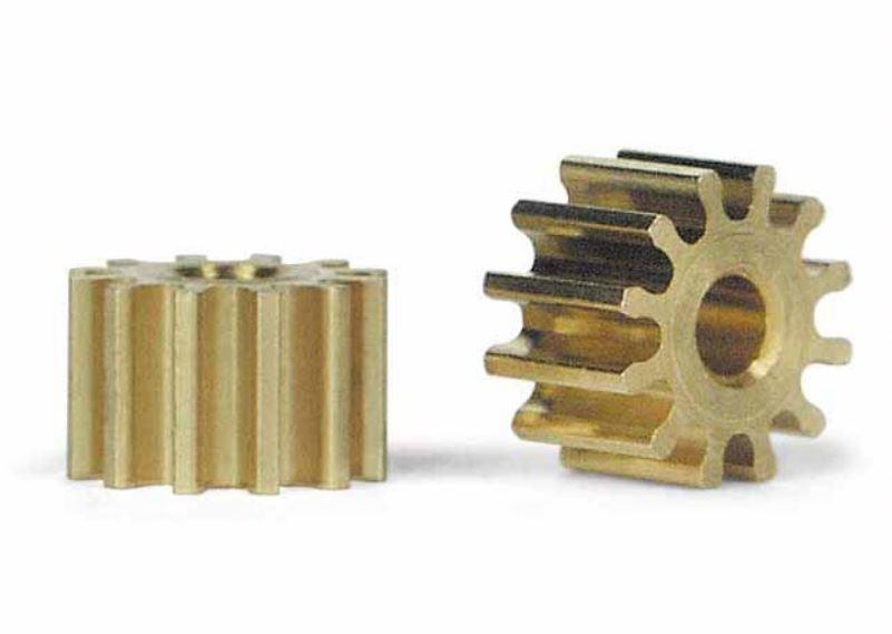 2x Slot.It Motorritzel PAS 6,5mm 12 Zähne für 2,00mm,