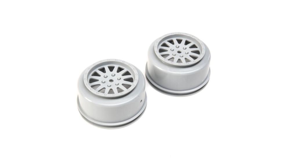 Losi Wheels, Grey (2): Tenacity DB/SCT (LOS43022)