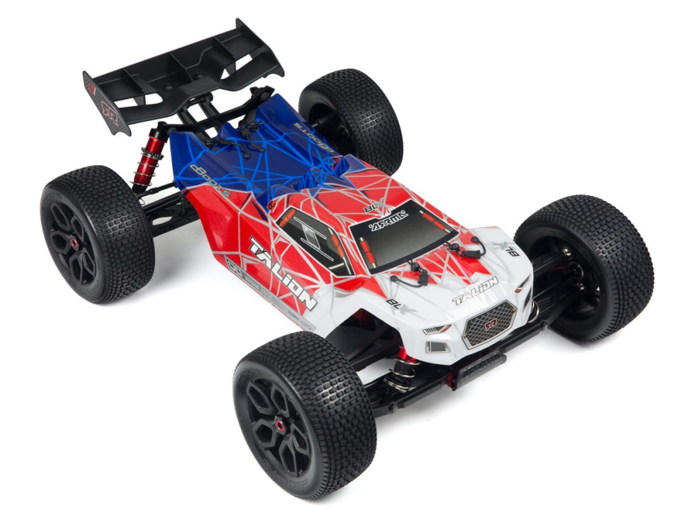 Arrma RC Karosserie Talion 6s BLX,lack.+beklebt rot/blau