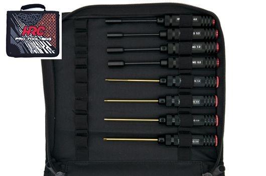 HRC Racing Werkzeugtasche mit Werkzeug - Racer Set