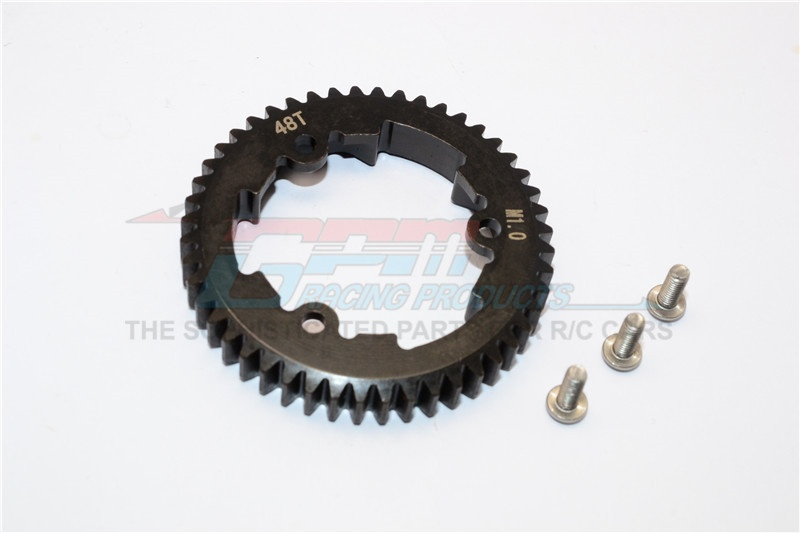 GPM steel spur gear 48T (M1.0) - 1PC Set for Traxxas X-Maxx