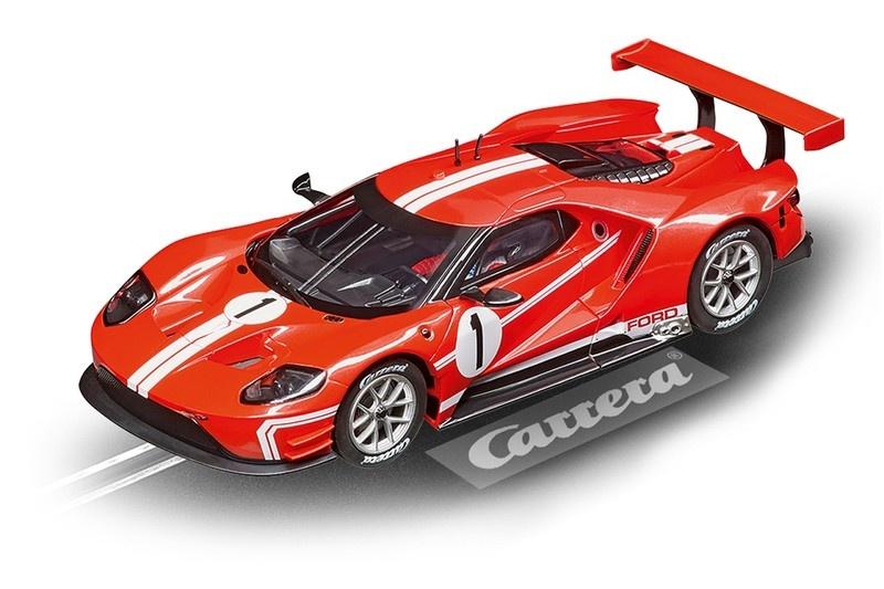 Carrera Digital 132 FORD GT RACE CAR TIME TWIST, NO.1