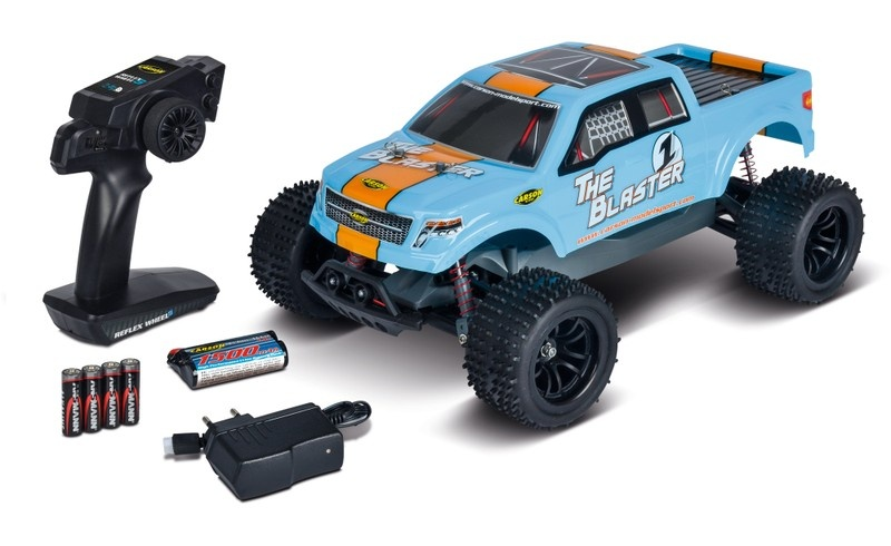 Carson The Blaster FE 2WD Offroad Truggy 2.4GHz RTR 1:10