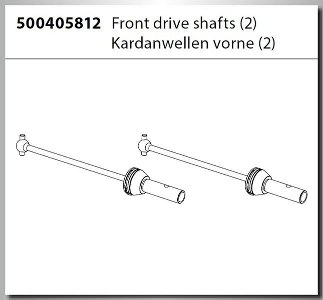 Carson V4 Truggy Antriebswellen CVD (2)