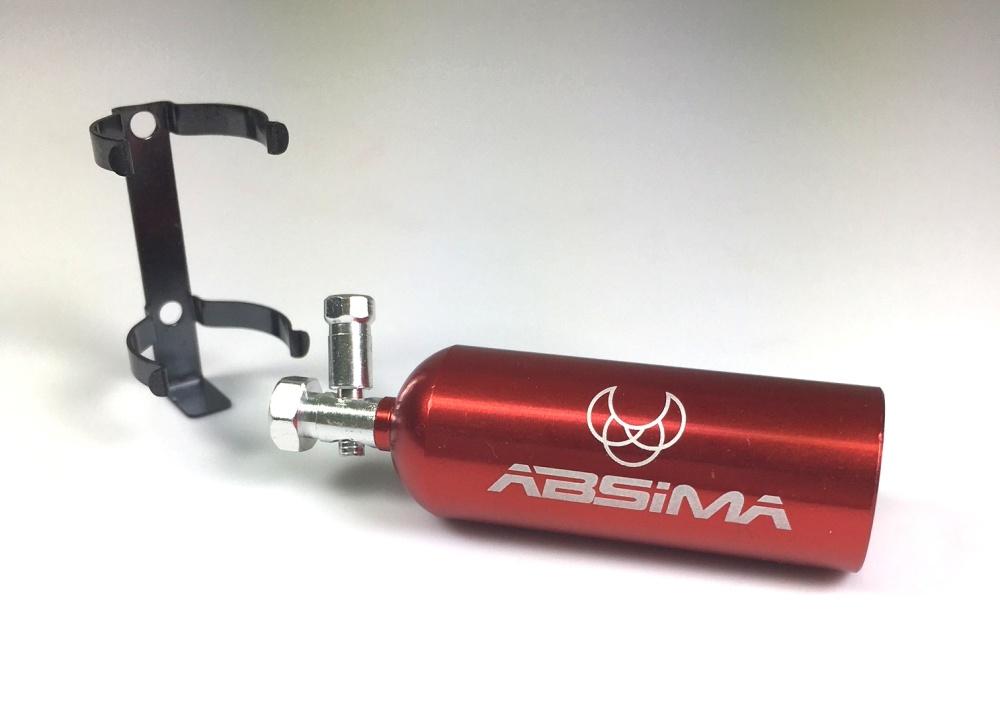 Absima Aluminium Feuerlöscher rot