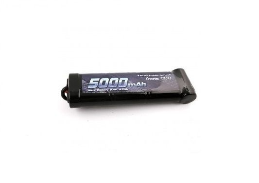 Gens ace 5000mAh 8.4V 7-Cell NiMH Flat Battery Pack with