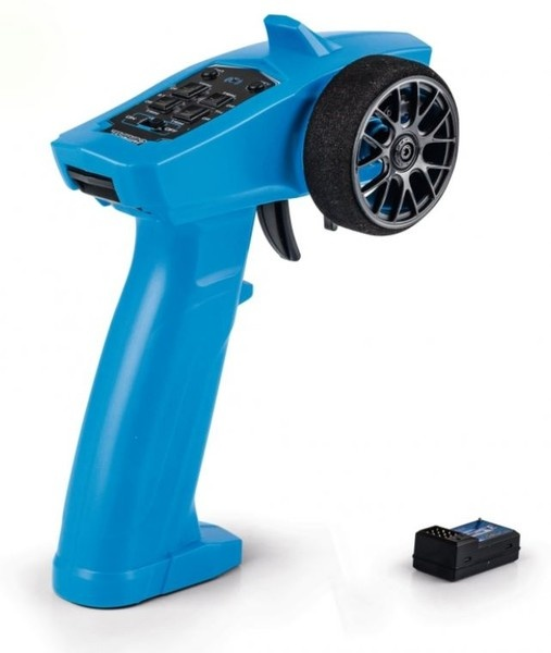 Carson Reflex Wheel Start 2.4GHz Radio blau