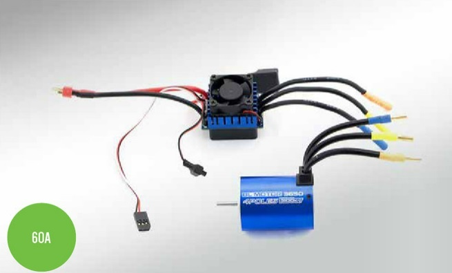 Monstertronic Brushless-Set Hobby Line 12T/3100KV