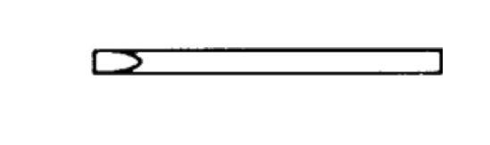 Lötspitze 5 mm longlife, Meißelform