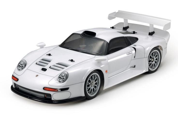Tamiya RC Porsche 911 GT1 Street (TA03R-S) Bausatz 1:10