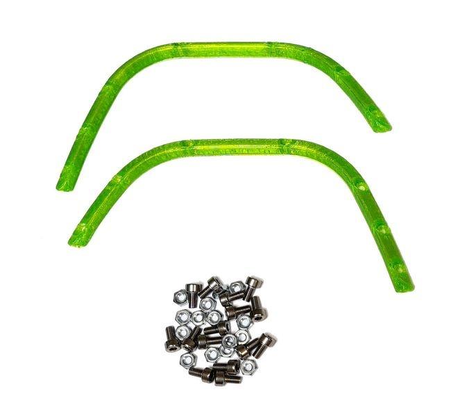 JS-Parts ultraflex Fender hinten Heavy Duty grün für