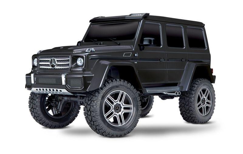 Traxxas TRX-4 Mercedes G 4x4 schwarz 4WD Scale-Crawler