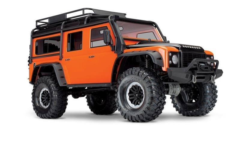 Traxxas TRX-4 Land Rover orange Limited Adventure-Edition