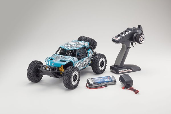 Kyosho Axxe EP Buggy (KT 231P) T6 blau RTR 1:10