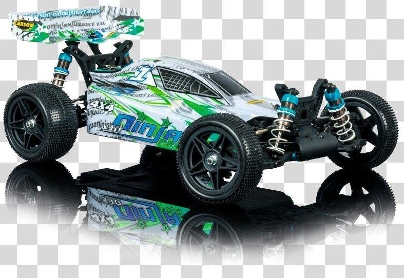 Carson RC X10 Ninja Pro Karosserie + Spoiler