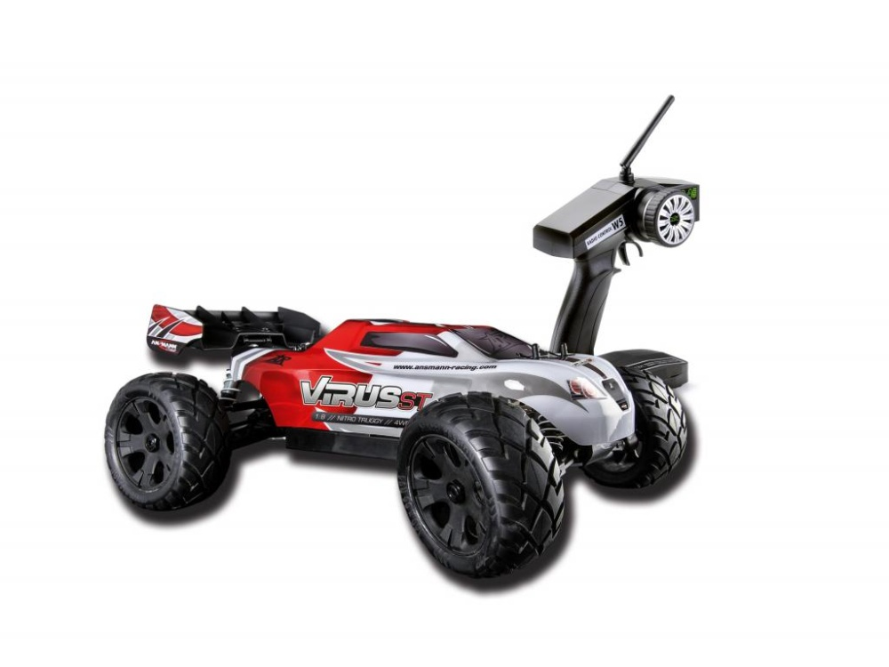 Ansmann Virus ST 2.4GHz Waterproof RTR 1:8