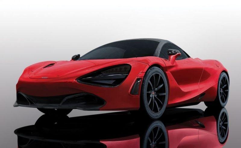 Scalextric 1:32 McLaren 720S - Memphis Red SRS
