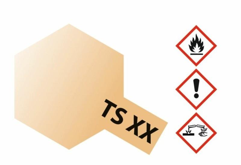 Tamiya Acryl-Sprühfarbe TS-XX Sand hell Metallic 100ml