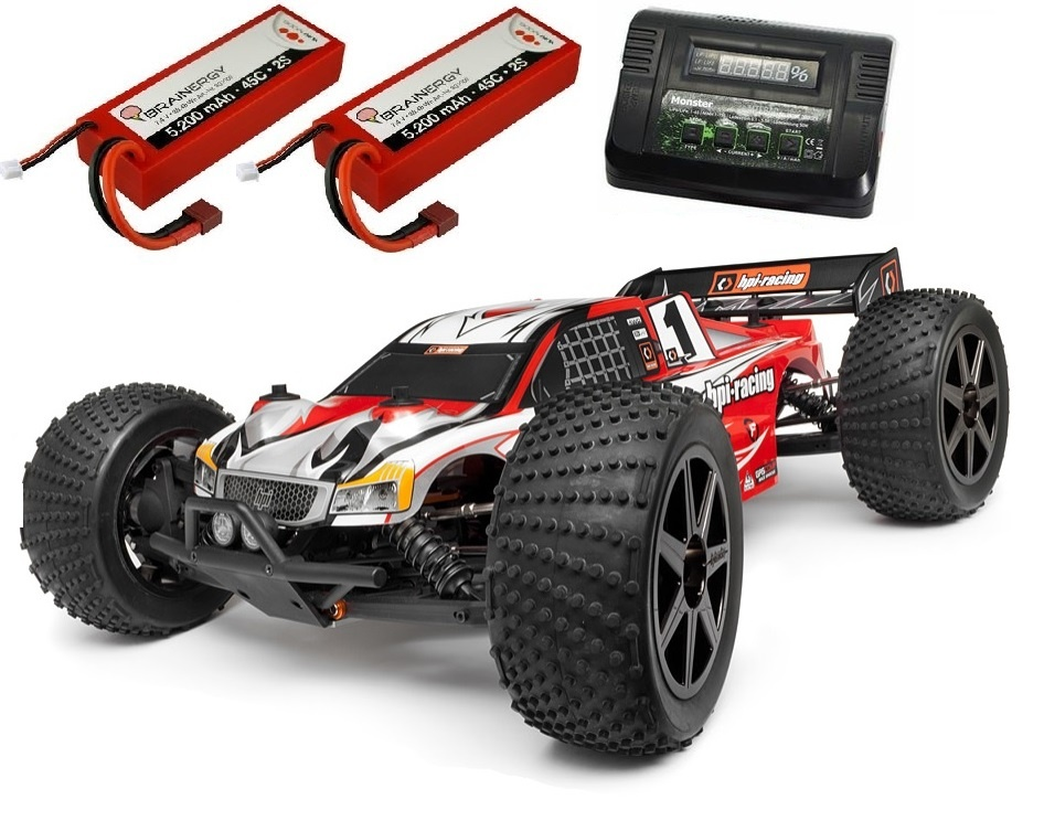 HPI Trophy 4WD ElektroTruggy Flux 2.4GHz RTR 1:8 -SPARSET 2-