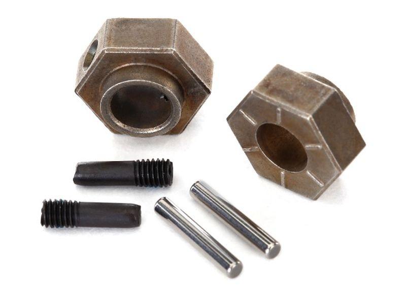 Traxxas Radmitnehmer 12mm hex (2) + Mitnehmerpins TRX-4