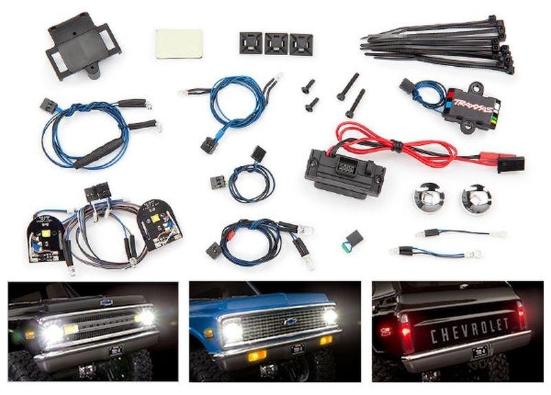 Traxxas Lichter-Set komplett mit Power Supply