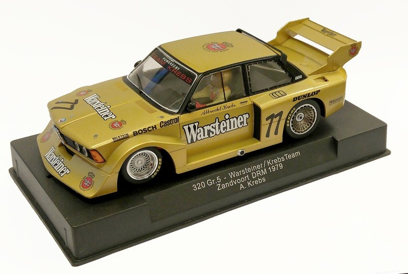 Sideways BMW 320 Gr.5 Warsteiner/Krebs Team