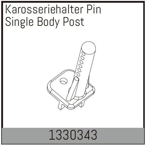 Absima Karosseriehalter Pin