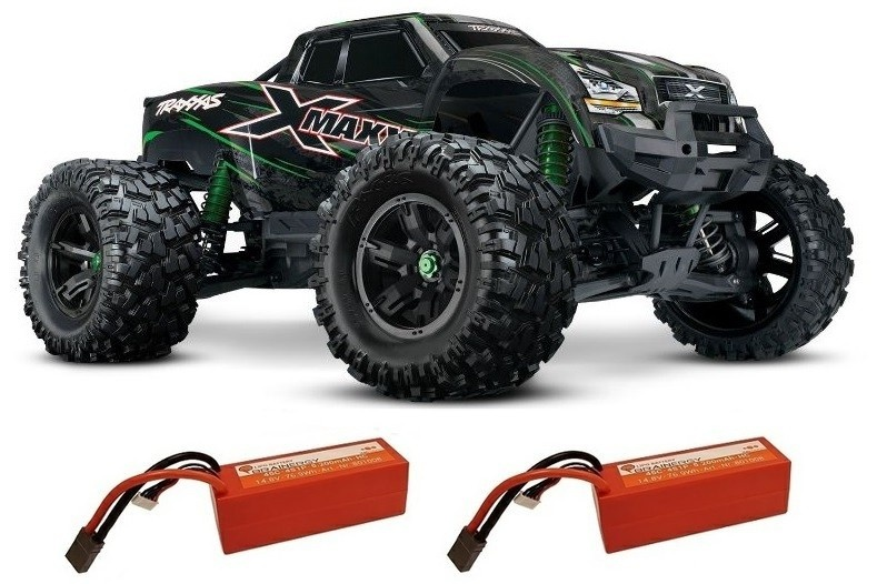 Traxxas X-Maxx 4x4 E-Monstertruck BL TQi2.4GHz TSM 8S+30Volt