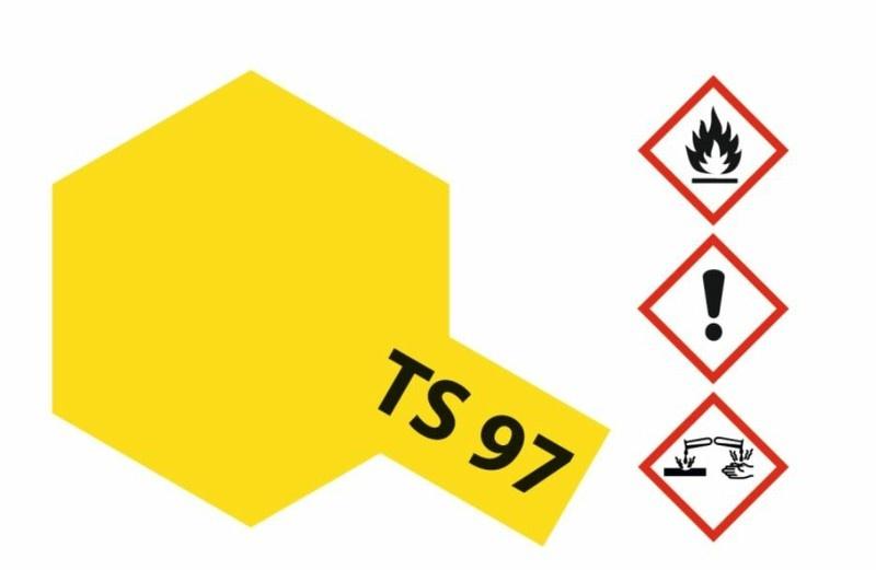Tamiya Acryl-Sprühfarbe TS-97 Perl-Gelb glänzend 100ml