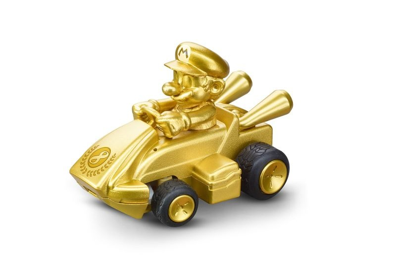Carrera RC 2,4GHz Mario Kart(TM) Mini RC, Mario - Gold